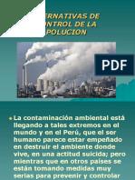 Alternativas de Control de La Polucion