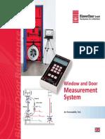 Window and Door Measurement System