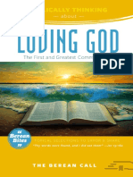 Loving God Book