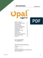 Opal Ice Machine Manual