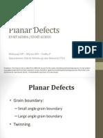 10. Crystal Defect - Planar Defects WNP