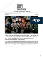 Brand-experts.com-Indias Fashion Amp Retail Sector an Overview