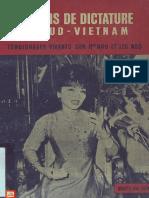 Neuf Ans de Dictature Au Sud-Vietnam Témoignages Vivants Sur Mme Nhu Et Les Ngô - Nguyễn Quí Hùng
