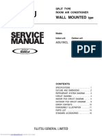 Fujitsu Service Manual