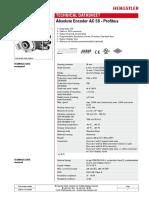 Datasheet AC58-Profibus En