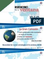 Consideraciones Sobre La Ventana 10_40