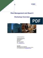 RiskManagementAndBaselIIWorkshop