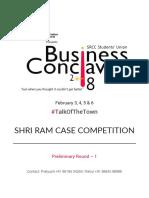 Shri Ram Case Competition