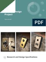 speaker design project