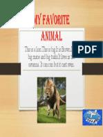 My Favorite Animal 4b