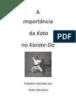 A importância do kata no Karate-do