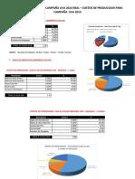 Costos de Produccion Uva