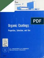 Organic Coatings Book