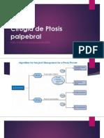 Cirugía de Ptosis Palpebral