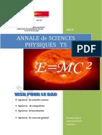 Annale de Sciences Physiques