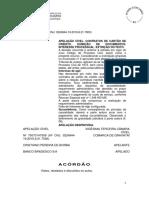ACÓRDÃO - Requisitos Adm Para Exibitória