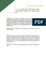 Epidemiología Influenza Review