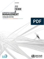 who Global Plan For Insecticide resistance management in malaria vector (GPIRM)..pdf