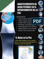 Abastecimiento de Agua Potable en La Ciudad de La Paz