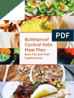 Keto Meal Plan and Cookbook Bundle