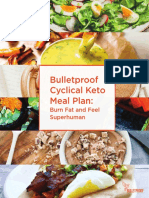Keto Meal Plan and Cookbook Bundle