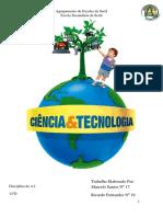 Ciencia e Tecnologia Do Sec XIX e XX