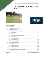 2010rev Chapter 5 Hydrologic Analysis Design
