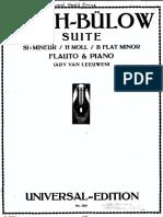 BACH - Suite H-moll BWV 1067 - bearbeitung von Hans Bülow - Klavier Score.pdf