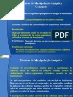 Manipulação Asséptica - Microbiologia