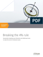 Breaking the 4 Percent Rule - JP Morgan