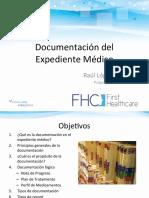 Documentación de Expediente Médico