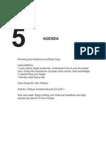 Agenda Wed Wk5