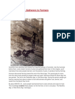 unit 3 from hunters gatherers to farmers- reading
