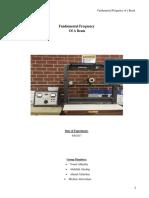 476A Beam Report(FINAL) (1)