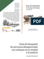 Guía de Búsqueda de Personas Desaparecidas GIASF