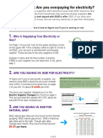 Are You Overpaying For Electricity?