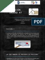 Presentación FRICCION