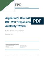 El acuerdo de Argentina con el FMI