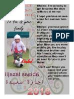 Happy Holidays Khaled