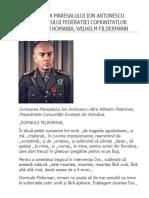 Scrisoare Maresalul Antonescu Catre Evrei