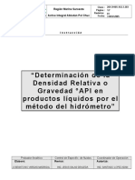 3-203  Determinación°API