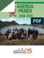 Agenda Muqui 2018 - 2021