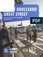 Venice Blvd Great Street One-Year Evaluation Report