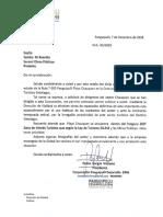 Carta Seremi Por Camino Chauquen 2018