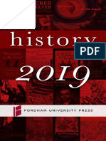 History 2019 Brochure