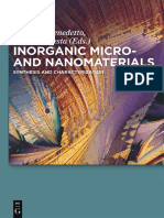 Inorganic Micro- And Nanomaterials _ Synthesis and Characterization (2013)