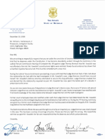 Letter to Valliencourt