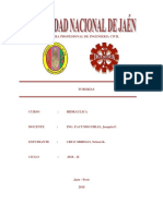 Informe de Hidraulica 1