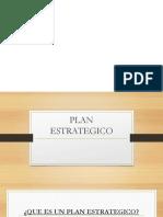 El Plan Estrategico