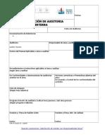 For-14 Ver 03 Planificacion Audit Interna SGI